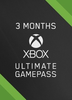 3 Meses De Xbox Live Game Pass Ultimate (gold+game Pass)
