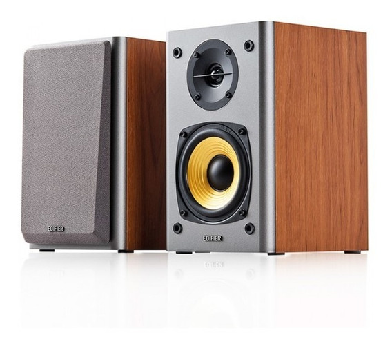 Caixa Acústica Edifier R1000t4 - 24 Watt Rms Madeira Bivolt