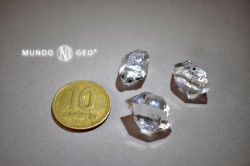 Piedra Diamante Herkimer Biterminado Nro. 2