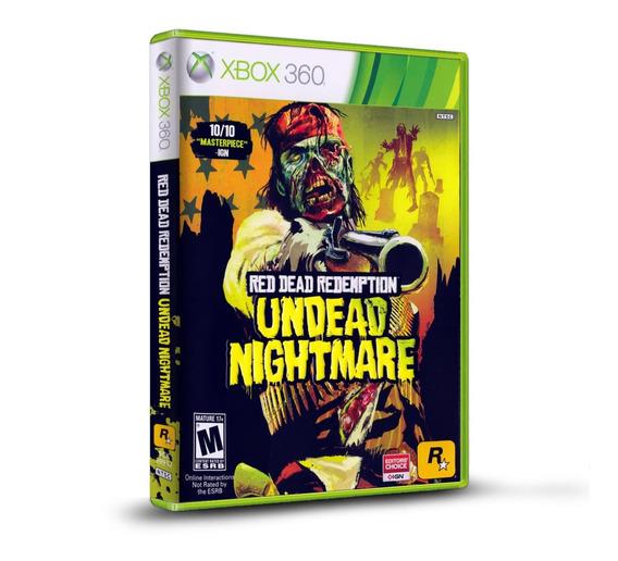 Red Dead Redemption Undead Nightmare - Original P Xbox 360