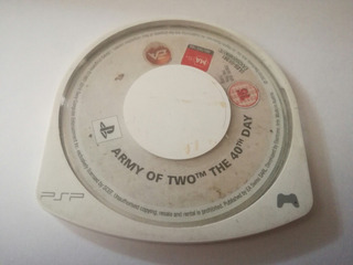 Army Of Two The 40 Day Psp Umd