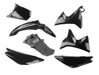 Kit Plasticos Yamaha Xtz 125 Negro Completo Obvio Fas Motos