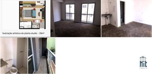 Studio À Venda, 28 M² Por R$ 338.603,70 - Aclimação - São Paulo/sp - St0038