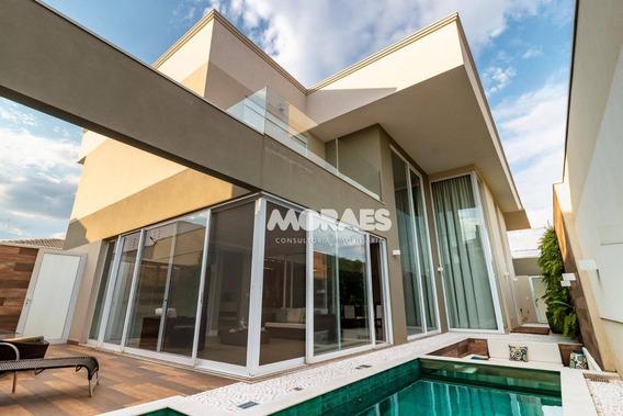 Casa Moderna Com 4 Suítes À Venda, 402 M² Por R$ 2.500.000 - Residencial Lago Sul - Bauru/sp - Ca1674