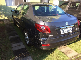 Peugeot 207 Passion Sedan Grafite 1.6 Economico,b Couro, Mec