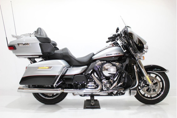 Harley Davidson Electra Glide Ultra Limited 2015 Prata