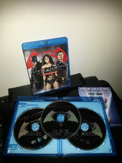 Batman Vs Superman Dawn Of Justice Película Blu-ray Original