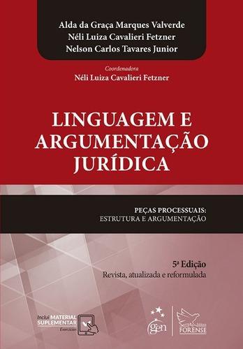 Linguagem E Argumentação Jurídica 5ª Ed Nelson Alda Neli