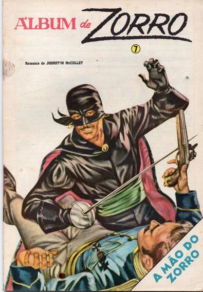 Álbum Do Zorro Nº 7 - Bom Estado - Frete Grátis