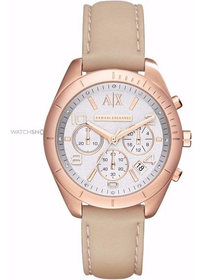 Relógio Feminino Armani Exchange Ax5504 Sarena Chronograph J