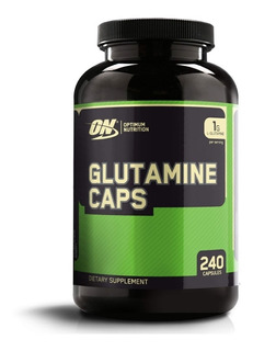 Glutamina Caps 1000 Mg 240 Cápsulas Optimum Nutrition Import