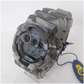 Relógio Atlantis Digital Masculino Original Estilo G Shock