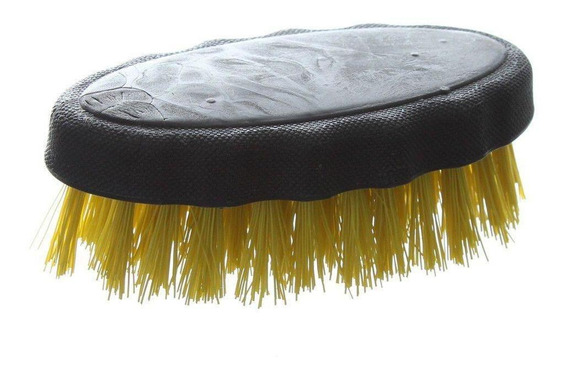 Escova Para Lavar Multiuso Plástica Amarela Roma