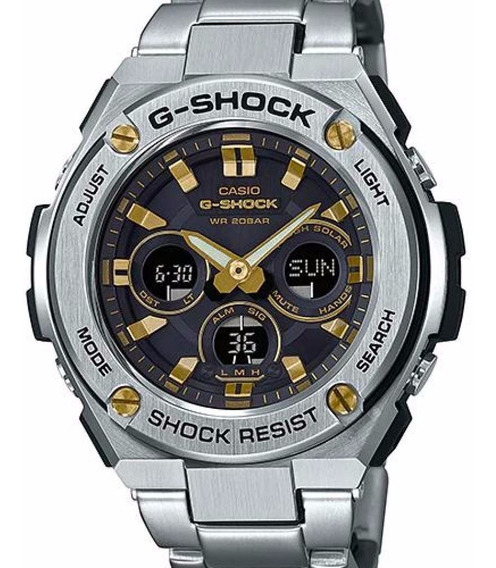 Relógio De Aço Inoxidável Gsts310d-1a Do Bracelete Do G-aço
