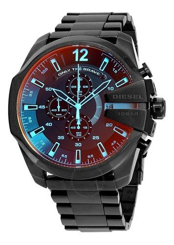Reloj Diesel Hombre Dz4318 Nuevo Original Negro Iridiscente