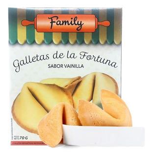 Galletas De La Fortuna Sabor Vainilla X 12u - Eventos
