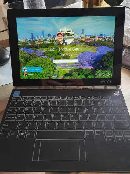 Lenovo Yogabook Com Windows 64 Gb 4 Ram - Na Caixa