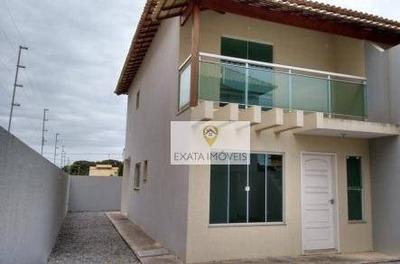 Duplex Independente Próximo A Praia, Floresta Das Gaivotas, Rio Das Ostras. - Ca0758
