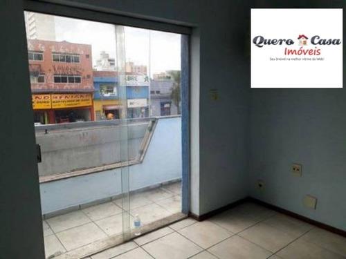 Loja Para Aluguel, Centro - Santo André/sp - 2570