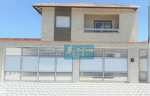 Casa Com 2 Dormitórios À Venda Por R$ 140.000,00 - Parque Das Américas - Praia Grande/sp - Ca0059