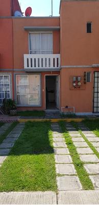 Bonita Casa En Venta - Condo. Parkia-hacienda De Cuautitlán