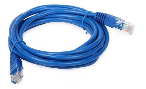 Cable De Red Cat.5e Ethernet 10 Metros Pc Módem Router Ps4