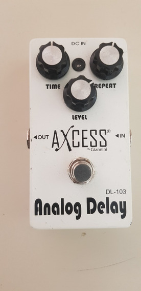 Pedal Guitarra Analog Delay Axcess Dl-103 By Giannini