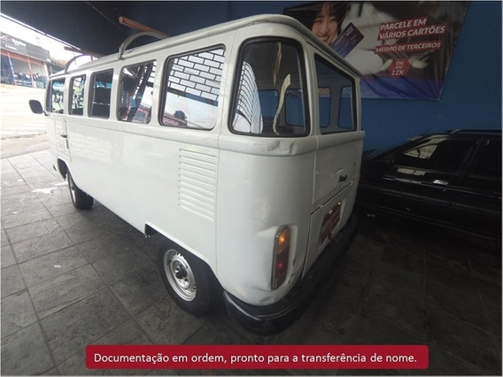Volkswagen Kombi 1.6 Mi Std 8v Gasolina 3p Manual