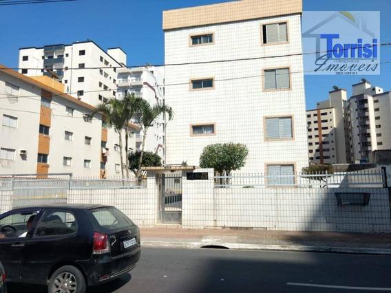 Apartamento Em Praia Grande, 02 Dormitórios, Guilhermina, Ap1676 - Ap1676