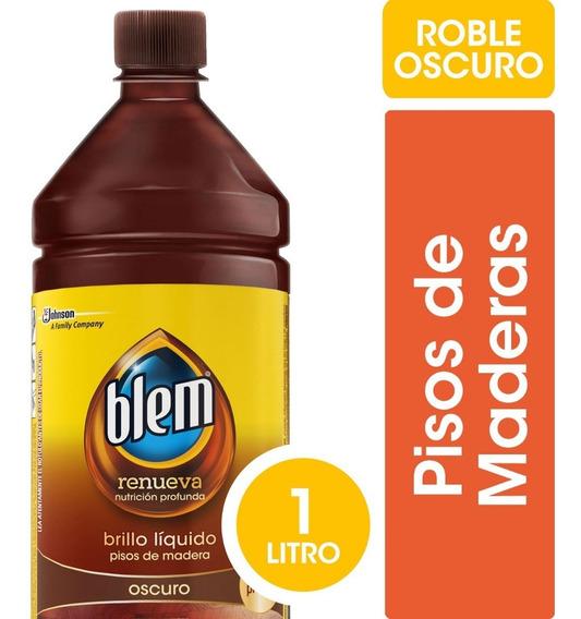 Blem Cera Líquida Oscuro X 1000cc - 3 Botellas