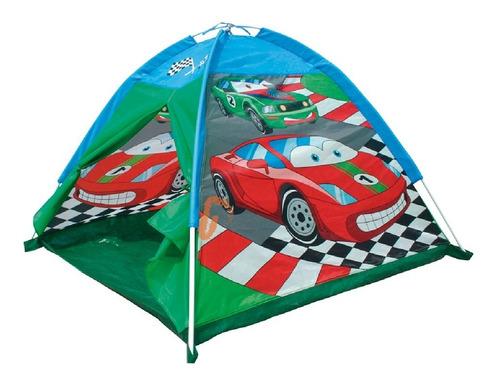 Imagen 1 de 2 de Carpa Casa Infantil Auto Carrera Racing Cars Tent Iplay Pc