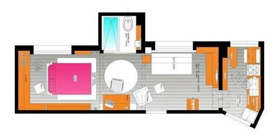 Apto 1 Dorm Transformado Em Softloft Com Banheira