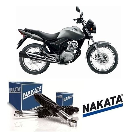 Par Amortecedor Cg 150 Es Eds Ks Job Titan Original Nakata