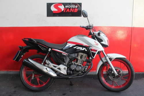Imagem 1 de 11 de Honda Cg 160 Titan 160 S Cg Titan S 2020 Branca Branco