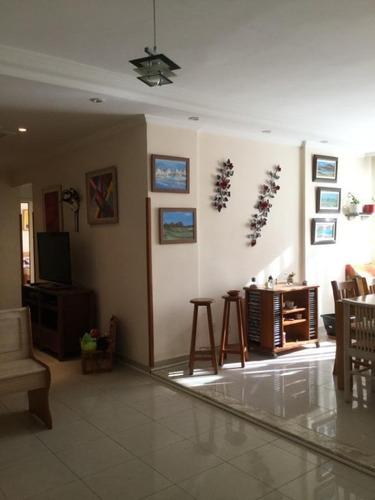 Apartamento Com 3 Dormitórios À Venda, 140 M² Por R$ 750.000,00 - Campo Grande - Santos/sp - Ap5328