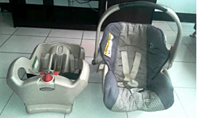 Porta Bebe Graco Con Base De Carro En Perfecto Estado