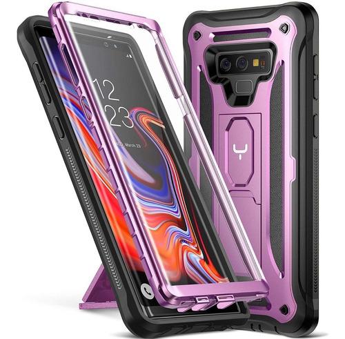 Case Galaxy S10 Plus C/ Mica Note 9 8 S9 S10e S8 S9 Pro 360