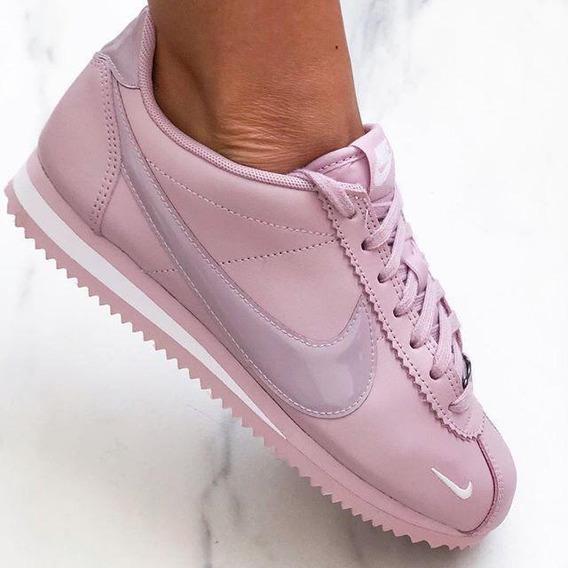 Tenis Mujer Nike Cortez Zapatillas Deportiva + Caja Envio