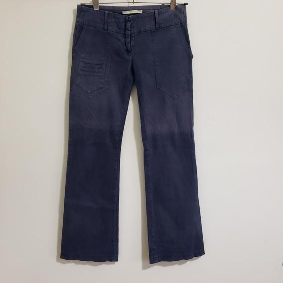 Oxford De Gabardina Materia Estilo Vintage 90s Talle 38