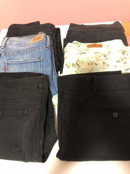 Pantalones Jeans Usados Dama Mujer Jean En Mercado Libre Uruguay