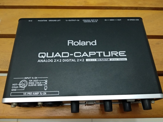 Interface Audio Roland Quad Capture