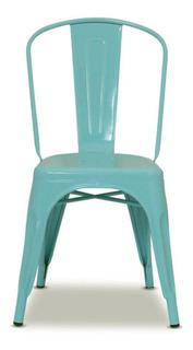 Silla Tolix Metalica Interior / Exterior Colores Deco - Prestigio