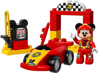 Lego Duplo 10843 Mickey Mouse Corredor De Carreras + Cuotas!