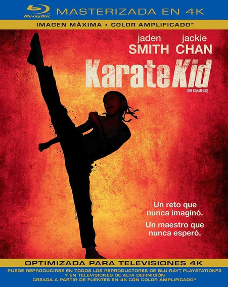 Karate Kid Jackie Chan Masterizada 4k Pelicula Blu-ray
