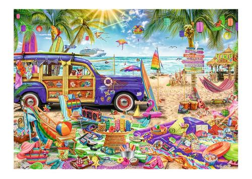 Rompecabezas Trefl X 2000 Piezas - Vacaciones Tropicales