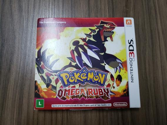 Pokémon Omega Ruby - 3ds Completo Mídia Física - Usado