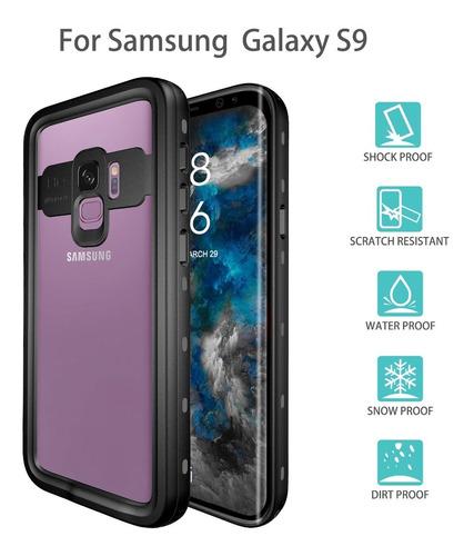 Imagen 1 de 5 de Funda Impermeable Samsung Galaxy S9