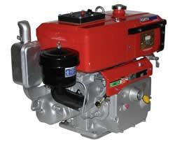 Motor Diesel 14,0 Cv Partida Manual Marca Forth