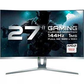 Monitor Gamer Gamemax 27 Curvo Fhd Dp 144hz 1ms Gmx27c144-w