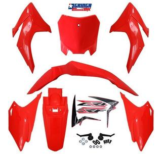 Kit Plastico Crf 230 Avtec Com Number E Adesivo